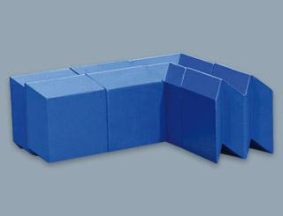 Bleibausteine für die zerstörungsfreie Werkstoffprüfung quadratisch│Röhr + Stolberg
