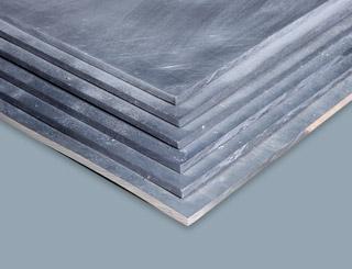 Bleiplatten schützen vor ionisierender Stahlung in der Nuklearmedizin.
