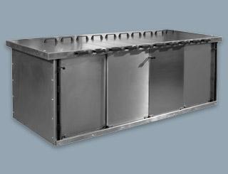 Electronic rack shielding