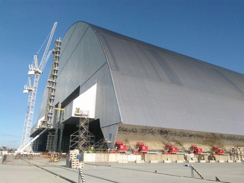 Krefelder Blei schirmt Tschernobyl-Reaktor ab