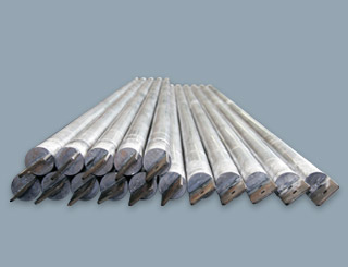 Anodes for hard chromium plating