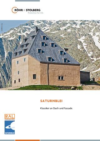 """Broschüre """"Produktionformationen Saturnblei"""" zum Download"""