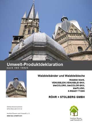 Zertifikat Umweltproduktdeklaration zum Download