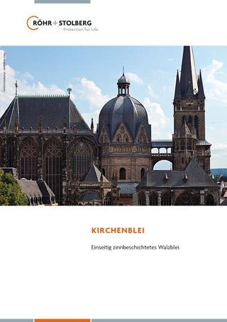 """Broschüre """"Produktinformationen Kirchenblei"""" zum Download"""