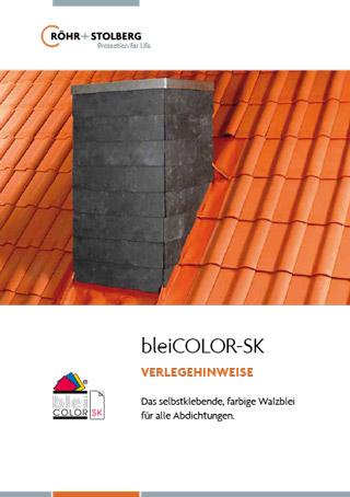 """Broschüre """"Verlegehinweise bleiCOLOR-SK"""" zum Download"""