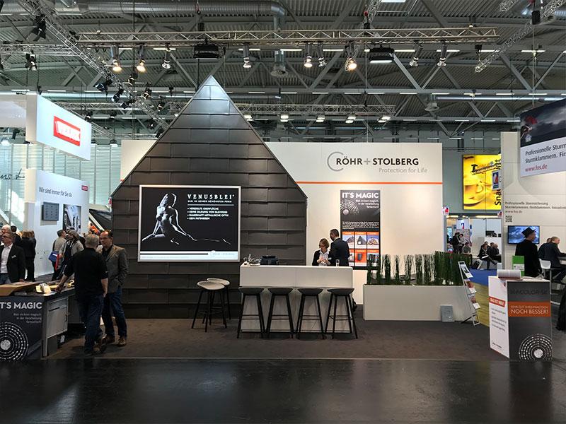 Röhr + Stolberg auf der Fachmesse Dach + Holz 2018