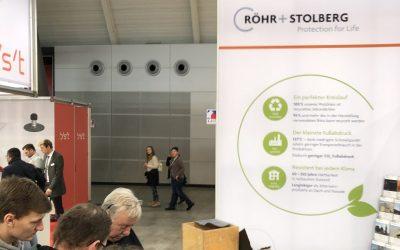 Röhr + Stolberg auf der Fachmesse Dach + Holz 2020