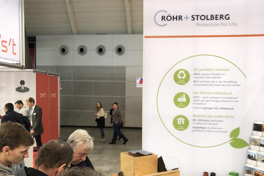 """Röhr + Stolberg präsentiert sich auf der Messe Dach + Holz 2020 unter dem Motto """"Globetrotter Blei"""""""